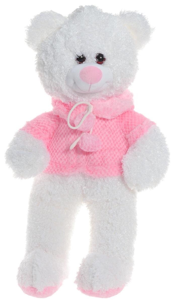 СмолТойс Мягкая игрушка Мишка в кофточке 40 см1647/БЕЛМягкая игрушка СмолТойс Мишка в кофточке не оставит равнодушным ни ребенка, ни взрослого и вызовет улыбку у каждого, кто его увидит. Игрушка представлена в виде белого мишки, одетого в розовую кофточку. Глазки выполнены из пластика. Необычайно мягкий, он принесет радость и подарит своему обладателю мгновения нежных объятий и приятных воспоминаний. Мягкая игрушка может стать милым подарком, а может быть и лучшим другом на все времена.