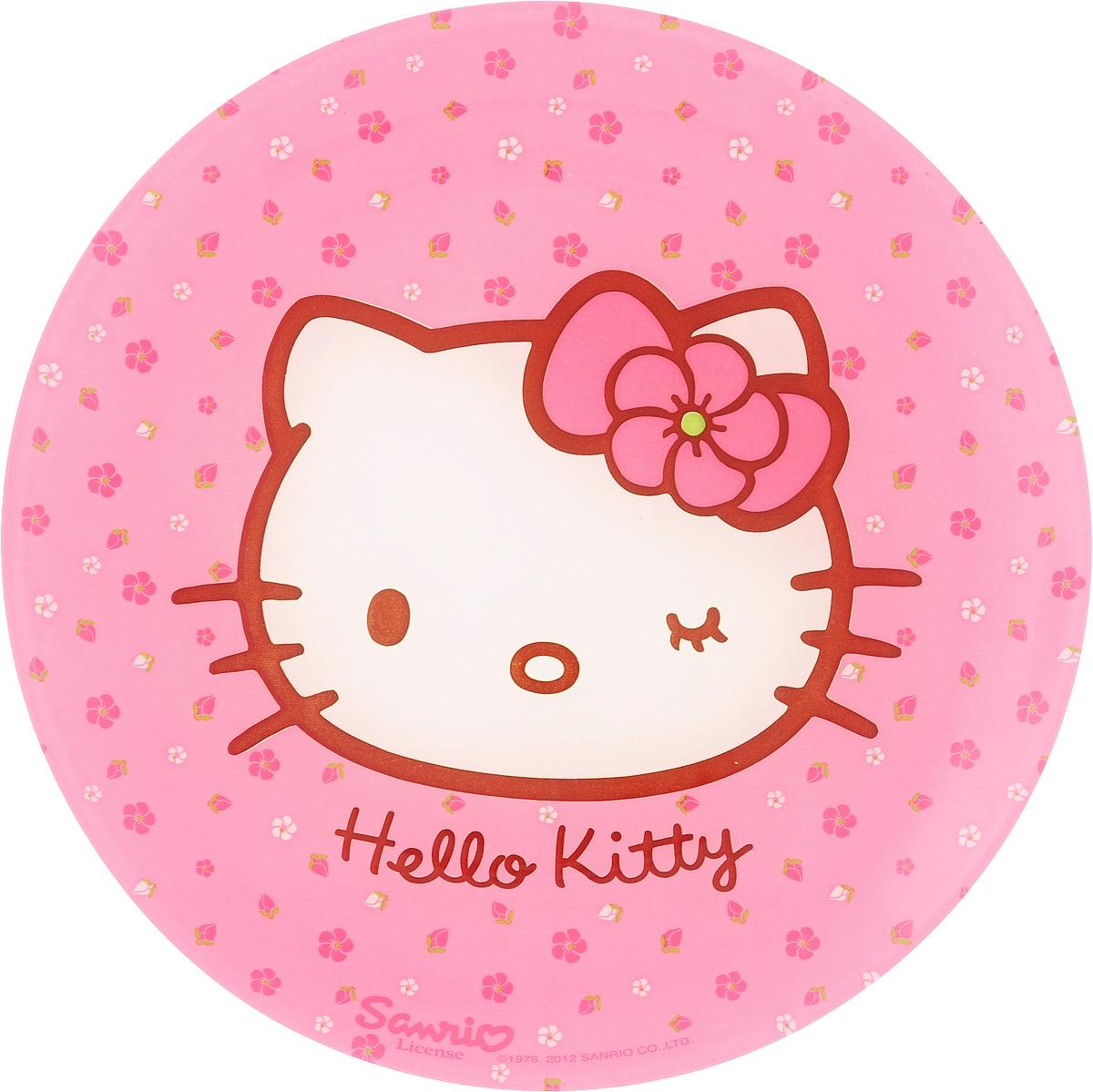 Тарелка десертная Luminarc Hello Kitty. Sweet Pink, диаметр 20 смH5479Десертная тарелка Luminarc Hello Kitty. Sweet Pink, изготовленная из ударопрочного стекла, декорирована ярким рисунком. Такая тарелка прекрасно подходит как для торжественных случаев, так и для повседневного использования. Идеальна для подачи десертов, пирожных, тортов и многого другого. Она прекрасно оформит стол и станет отличным дополнением к вашей коллекции кухонной посуды. Диаметр тарелки (по верхнему краю): 20 см.