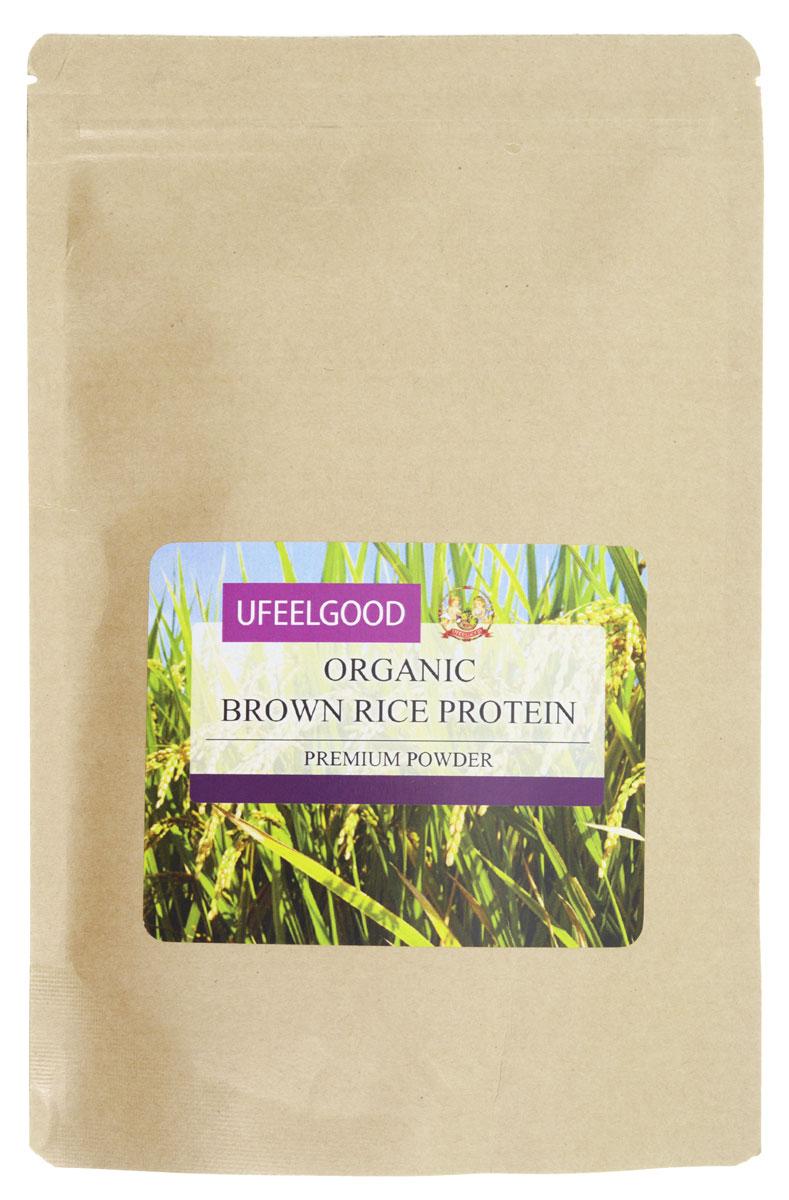 UFEELGOOD Organic Brown Rice Protein органический рис коричневый молотый, 200 г