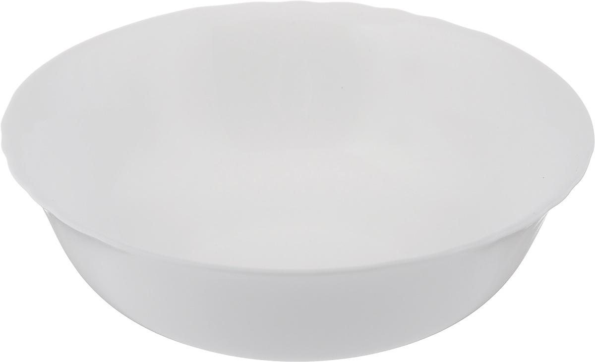 Салатник Luminarc Cadix, диаметр 16 смD7499Великолепный круглый салатник Luminarc Cadix, изготовленный из ударопрочного стекла, прекрасно подойдет для подачи различных блюд: закусок, салатов или фруктов. Такой салатник украсит ваш праздничный или обеденный стол, а оригинальное исполнение понравится любой хозяйке. Диаметр салатника (по верхнему краю): 16 см.