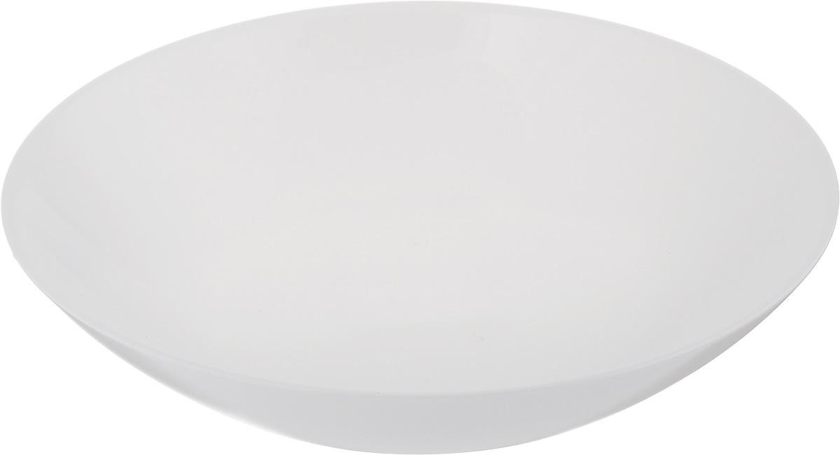 Тарелка глубокая Luminarc Diwali, диаметр 20 смD6907Глубокая тарелка Luminarc Diwali выполнена из ударопрочного стекла. Изделие сочетает в себе изысканный дизайн с максимальной функциональностью. Она прекрасно впишется в интерьер вашей кухни и станет достойным дополнением к кухонному инвентарю. Тарелка Luminarc Diwali подчеркнет прекрасный вкус хозяйки и станет отличным подарком. Диаметр тарелки по верхнему краю: 20 см.