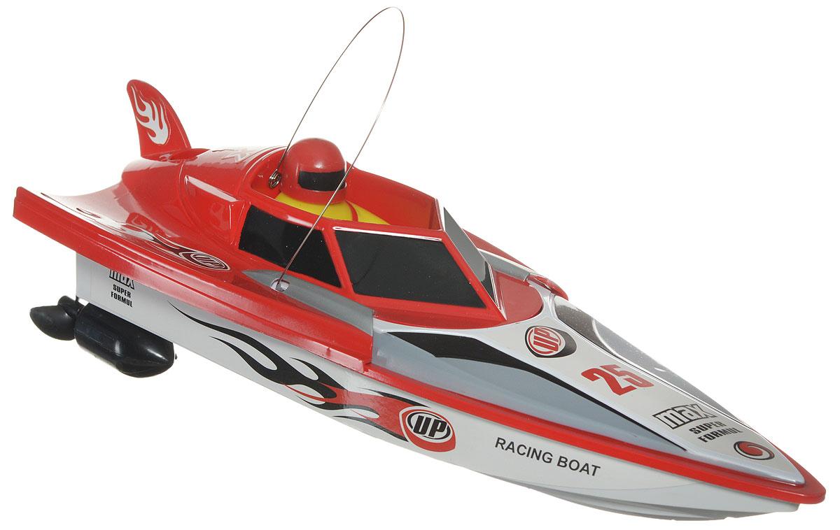 LK-Toys Катер на радиоуправлении Чемпионат Max Super Formul цвет красныйBM 5003_красныйРадиоуправляемый гоночный катер LK-Toys Чемпионат: Max Super Formul - необычная водная игрушка, которая понравится и детям, и взрослым. Игрушечный спортивный катер изготовлен из прочного и качественного пластика, что успешно позволяет сделать конструкцию корпуса максимально обтекаемой, а также защитить от попадания воды все внутренние компоненты. Управление обеспечивается при помощи специального пульта дистанционного управления, который позволяет без проблем контролировать модель на расстояниях до 30 метров. Функции управления: вперед, назад, вправо, влево. Радиоуправляемый гоночный катер LK-Toys Чемпионат: Max Super Formul обеспечит многие часы увлекательных игр на воде! В комплекте 2 запасных винта. Пульт управления работает на частоте 27 MHz. Для работы игрушки необходимы 4 батарейки типа АА (не входят в комплект). Для работы пульта управления необходимы 2 батарейки типа АА (не входят в комплект).
