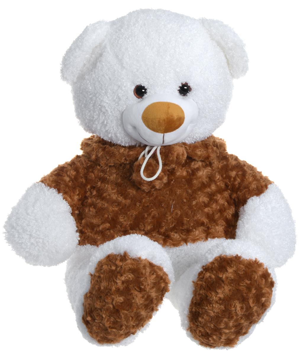 СмолТойс Мягкая игрушка Мишка в кофточке 50 см1647/БЕЛ/80Мягкая игрушка СмолТойс Мишка в кофточке не оставит равнодушным ни ребенка, ни взрослого и вызовет улыбку у каждого, кто его увидит. Игрушка представлена в виде белого мишки, одетого в коричневую кофточку. Глазки выполнены из пластика. Необычайно мягкий, он принесет радость и подарит своему обладателю мгновения нежных объятий и приятных воспоминаний. Мягкая игрушка может стать милым подарком, а может быть и лучшим другом на все времена.