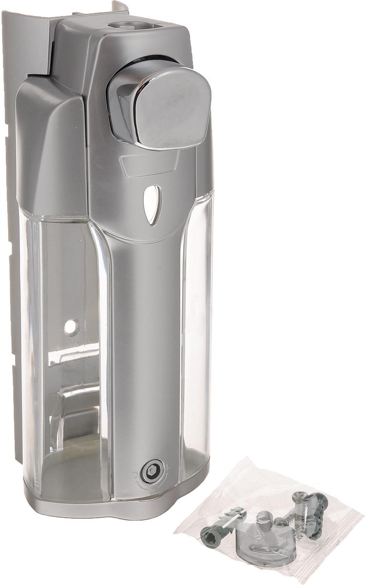 Дозатор для жидкого мыла Argo, 330 мл33925Дозатор для жидкого мыла Argo выполнен из пластика с покрытием из сатина. Такой аксессуар очень удобен в использовании, достаточно лишь перелить жидкое мыло в дозатор, а когда необходимо использование мыла, легким нажатием выдавить нужное количество. Крышка дозатора закрывается на ключ. При чистке изделия рекомендуется применять влажную губку, смоченную в воде, затем вытереть насухо тканью. Не допускается применение абразивных моющих средств, а также содержащих хлор, кислоты, щелочи либо спирт. Дозатор для жидкого мыла Argo создаст особую атмосферу уюта и максимального комфорта в ванной. В комплект входит: крепежная планка, ключ, крепеж, дозатор. Размер дозатора: 9 х 8 х 19 см. Объем дозатора: 330 мл.