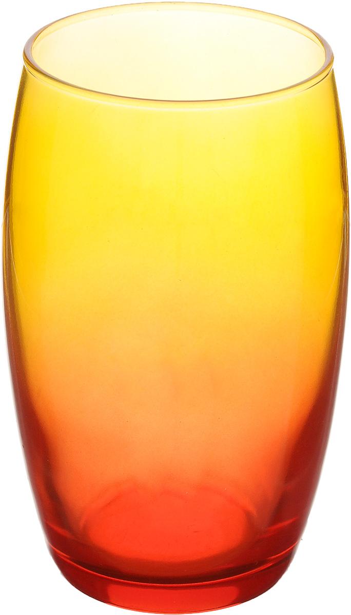 Стакан Luminarc FH Duos, цвет: красный, оранжевый, 360 млH8355Стакан Luminarc FH Duos изготовлен из высококачественного стекла. Такой стакан прекрасно подойдет для горячих и холодных напитков. Он дополнит коллекцию вашей кухонной посуды и будет служить долгие годы. Можно мыть в посудомоечной машине. Диаметр стакана (по верхнему краю): 6,5 см. Высота: 12,5 см.