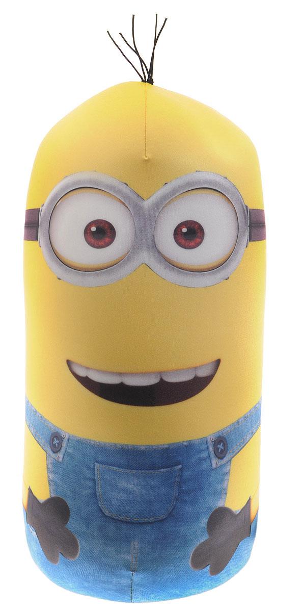 СмолТойс Мягкая игрушка-антистресс Кевин 47 см2946/ЖЛ/50Веселая мягкая игрушка-антистресс СмолТойс Кевин снимет напряжение и поднимет настроение. Игрушка-антистресс порадует малыша поклонника мультфильма Гадкий Я. Она наполнена мелкими гранулами полистирола, а чехол изготовлен из мягкого, приятного на ощупь материала. Игрушку можно сжимать, мять, гладить. Главное достоинство игрушки - это осязательный массаж, приятный, полезный и антидепрессивный. Мягкая игрушка-антистресс СмолТойс Кевин произведена из экологичных материалов и абсолютно безопасна как для вас, так и для вашего малыша.