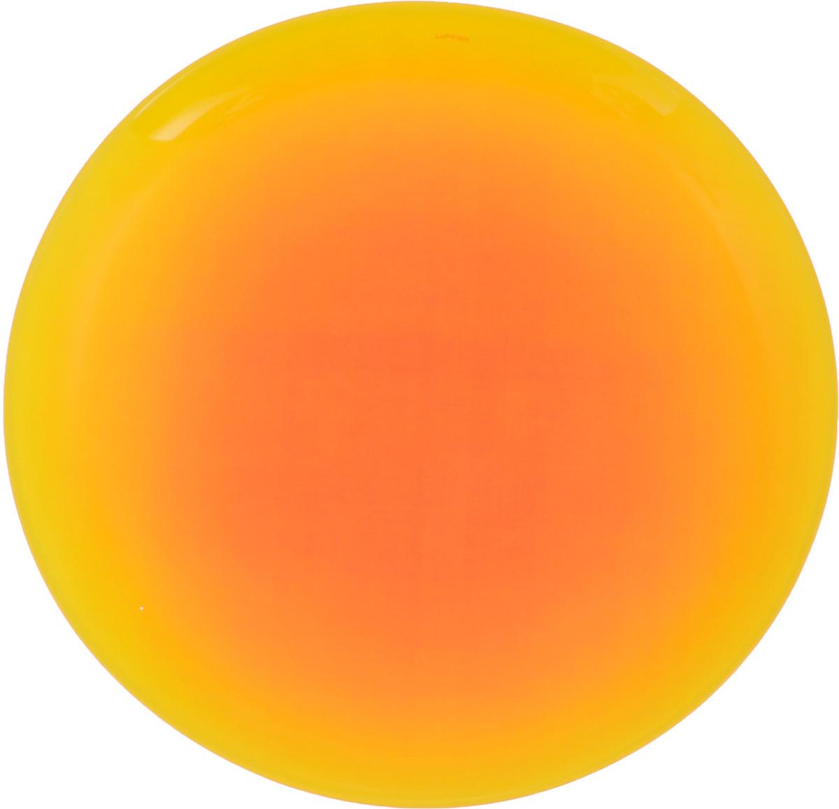Тарелка Luminarc Fizz Lemon, диаметр 25 смG9547Тарелка Luminarc Fizz Lemon, изготовленная из ударопрочного стекла и имеет оригинальный дизайн. Такая тарелка прекрасно подходит как для торжественных случаев, так и для повседневного использования. Идеальна для подачи десертов, пирожных, тортов и многого другого. Она прекрасно оформит стол и станет отличным дополнением к вашей коллекции кухонной посуды. Диаметр тарелки (по верхнему краю): 25 см. Высота тарелки: 2,2 см.