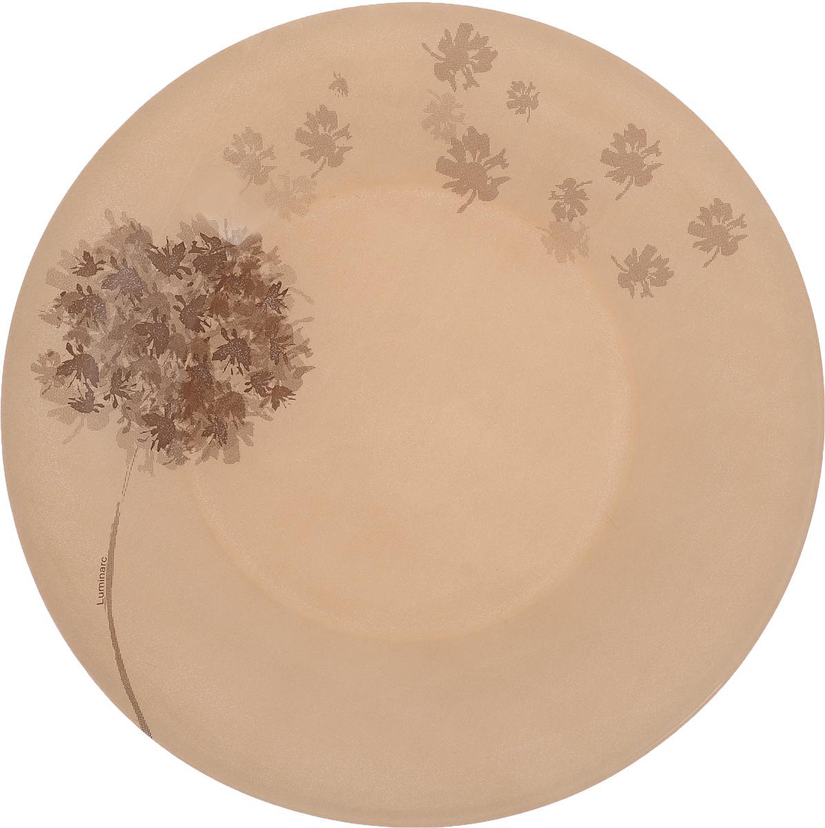 Тарелка десертная Luminarc Stella Chocolat, диаметр 19,5 смJ1910Десертная тарелка Luminarc Stella Chocolat, изготовленная из ударопрочного стекла, имеет изысканный внешний вид. Такая тарелка прекрасно подходит как для торжественных случаев, так и для повседневного использования. Идеальна для подачи десертов, пирожных, тортов и многого другого. Она прекрасно оформит стол и станет отличным дополнением к вашей коллекции кухонной посуды. Диаметр тарелки (по верхнему краю): 19,5 см. Высота тарелки: 1,7 см.