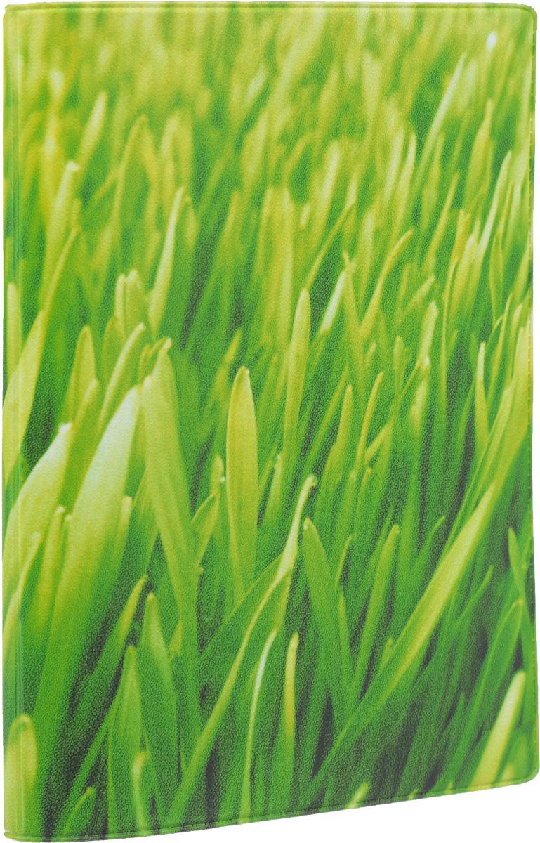 Обложка для паспорта Mitya Veselkov Газон, цвет: зеленый. OZAM048OZAM048Обложка для паспорта Mitya Veselkov Газон не только поможет сохранить внешний вид ваших документов и защитить их от повреждений, но и станет стильным аксессуаром, идеально подходящим вашему образу. Обложка выполнена из поливинилхлорида и оформлена изображением зеленой газонной травы. Внутри имеет два вертикальных кармана из прозрачного пластика. Такая обложка поможет вам подчеркнуть свою индивидуальность и неповторимость! Обложка для паспорта стильного дизайна может быть достойным и оригинальным подарком.