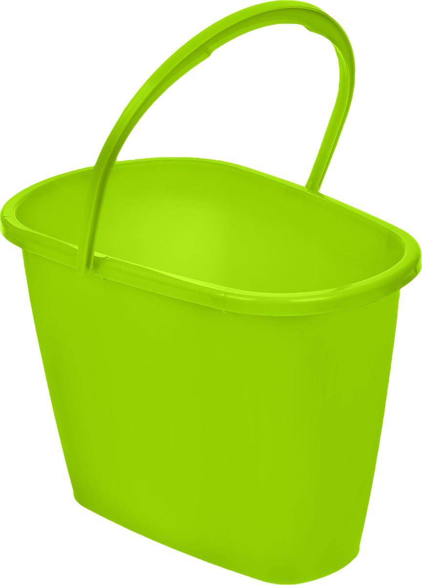 Ведро Centi, овальное, цвет: салатовый, 8 л7108_салатовыйОвальное ведро Centi изготовлено из высококачественного пластика. Оно легче железного и не подвержено коррозии. Изделие оснащено удобной пластиковой ручкой. Такое ведро станет незаменимым помощником в хозяйстве. Размер ведра (по верхнему краю): 32 х 20 см. Высота стенок: 22,5 см.