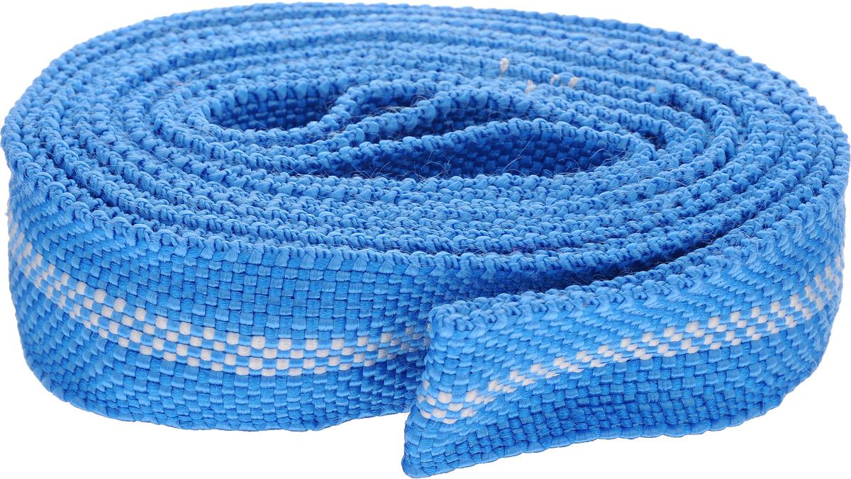 Трос буксировочный Sapfire, цвет: синий, белый, 6 м, 7000 кгSTS-1770_синий, белыйЛенточный трос Sapfire предназначен для буксировки автомобилей. Выполнен из прочного материала, что обеспечивает долгий срок эксплуатации. Длина троса: 6 м. Ширина троса: 5 см. Максимальная нагрузка: 7000 кг.