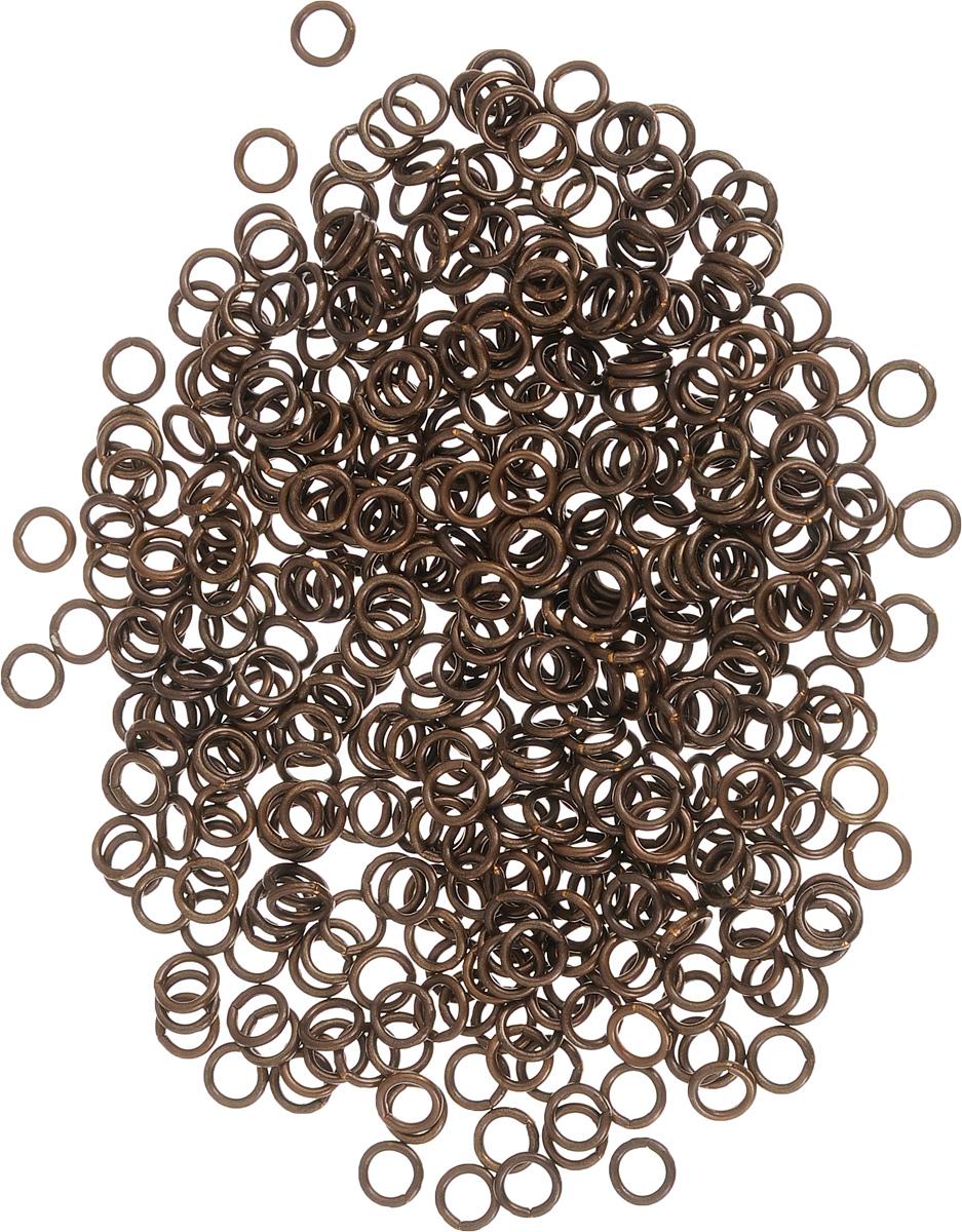 Набор соединительных колец для бижутерии Vintaj, диаметр, 4 мм, 504 штJR10Набор Vintaj состоит из соединительных колец, выполненных из металла. Предметы набора используются для изготовления бижутерии. Посредством таких колец можно прикрепить различные бусины, камни или металлические детали, что с успехом используется при создании сережек и кулонов. Соединительное кольцо - это важный и незаменимый элемент для создания бижутерии. Он преображает внешний вид изделия, делая его более выразительным, эффектным и стильным. Диаметр кольца: 4 мм.