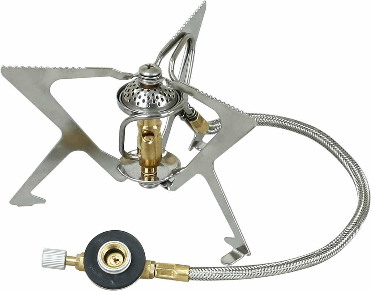 Горелка газовая Sharp Track5670240Легкая, Устойчивая, Мощная. Под газовые баллоны с резьбой и цанговые баллоны (при использовании переходника) Удлиненный топливопроводный шланг (40 см) Система предварительного прогрева топлива Для любителей путешествовать в одиночку или парами Может использоваться как основная, так и запасная горелка В комплекте: горелка, пластиковый чехол, инструкция по эксплуатации Уютное гудение горелки вплетается в шум прибоя, а запах кофе, как с родниковой водой смешивается с холодным утренним воздухом. Эта мощная, но вместе с тем легкая, компактная газовая горелка поможет вам ощутить полное слияние с природой. Если вы любите одиночество или путешествуете вдвоем мощности Sharp–а вполне хватит для основной готовки, но она хороша и в качестве второй горелки в группе. Удлиненный топливопроводный шланг позволяет создать устойчивую конструкцию. Система предварительного нагрева топлива гарантирует экономичную и стабильную работу, а кроме того...