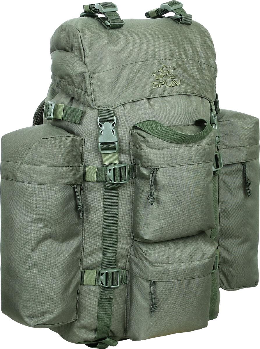 Рюкзак тактический Сплав РК1, цвет: оливковый. 43 л5022496Удобный, легкий рюкзак с множеством внешних карманов Обновленная спинка рюкзака благодаря многослойной структуре имеет высокую жесткость и обеспечивает отличную вентиляцию. Объемный карман в клапане Карман для документов на внутренней стороне клапана Анатомический крой лямок Грудная стяжка Съемный пояс из широкой стропы Два больших боковых кармана на молнии Два малых фронтальных кармана на молнии Боковые карманы рюкзака пришиты только по вертикальным краям, так что между ними и рюкзаком образуются плоские отделения со входом сверху для переноски длинномерных грузов. Выше карманов нашиты утяжки для надежного закрепления этих грузов Ячейки на лямках рюкзака позволят разместить рацию, GPS или другое оборудование, а также закрепить дополнительные подсумки в максимально удобных для быстрого доступа местах Дополнительные точки крепления груза на клапане и дне рюкзака и съемные стяжки в комплекте