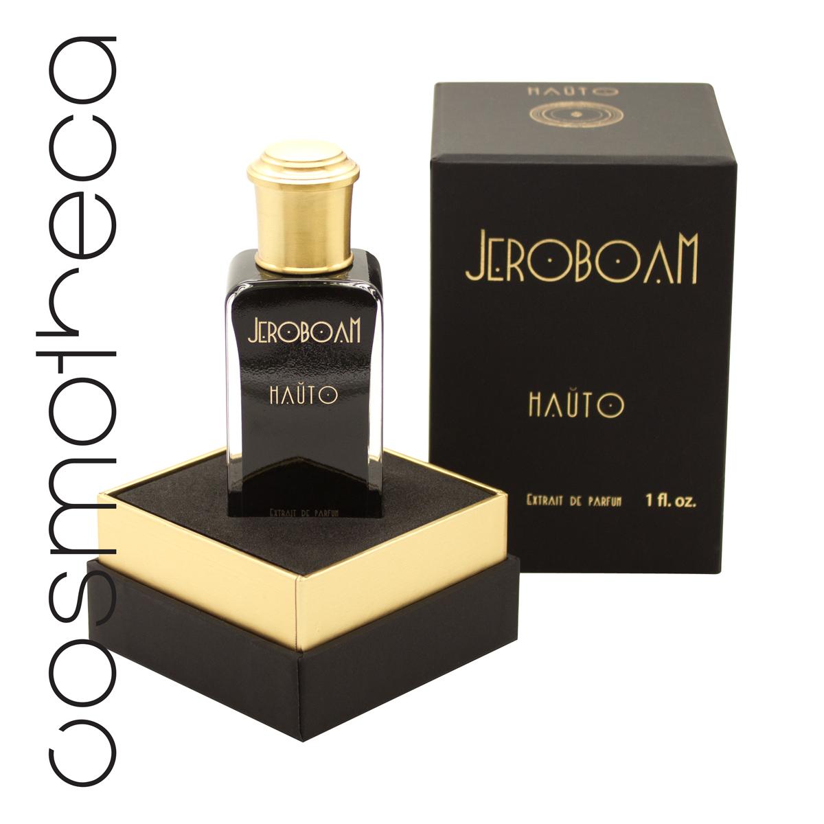 """Jeroboam Парфюмерная эссенция HAUTO, 30 мл70222Во времена «ревущих двадцатых» французские танцовщицы канкана в легендарных парижских кабаре имели собственные парфюмерные ритуалы. Они наносили духи поочередно на все места, где хотели ощутить поцелуи кавалеров. Hauto (""""кожа») – это приглашение ощутить настоящий, пьянящий аромат кожи. ВЕРХ: бергамот, ананас СЕРДЦЕ: тубероза, роза, специи БАЗА: смесь мускусов"""