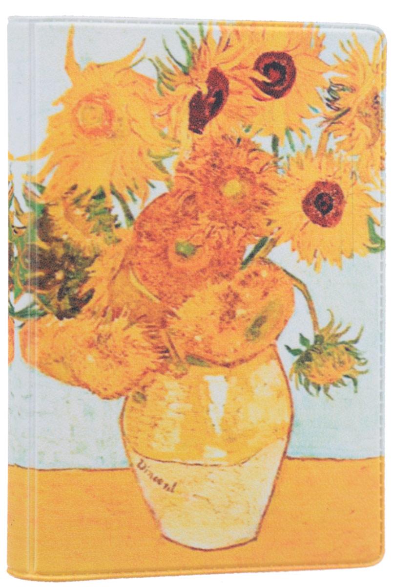 Визитница Mitya Veselkov Ван Гог. Подсолнухи, цвет: оранжевый, желтый. VIZAM011VIZAM011Оригинальная визитница Mitya Veselkov Ван Гог. Подсолнухи прекрасно подойдет для хранения визиток и пластиковых карт. Визитница выполнена из ПВХ и оформлена изображением художественного произведения Винсента Ван Гога Подсолнухи. Внутри содержится съемный блок из прозрачного мягкого пластика на восемнадцать визиток и два прозрачных боковых кармана. Стильная визитница подчеркнет вашу индивидуальность и изысканный вкус, а также станет замечательным подарком человеку, ценящему качественные и практичные вещи.