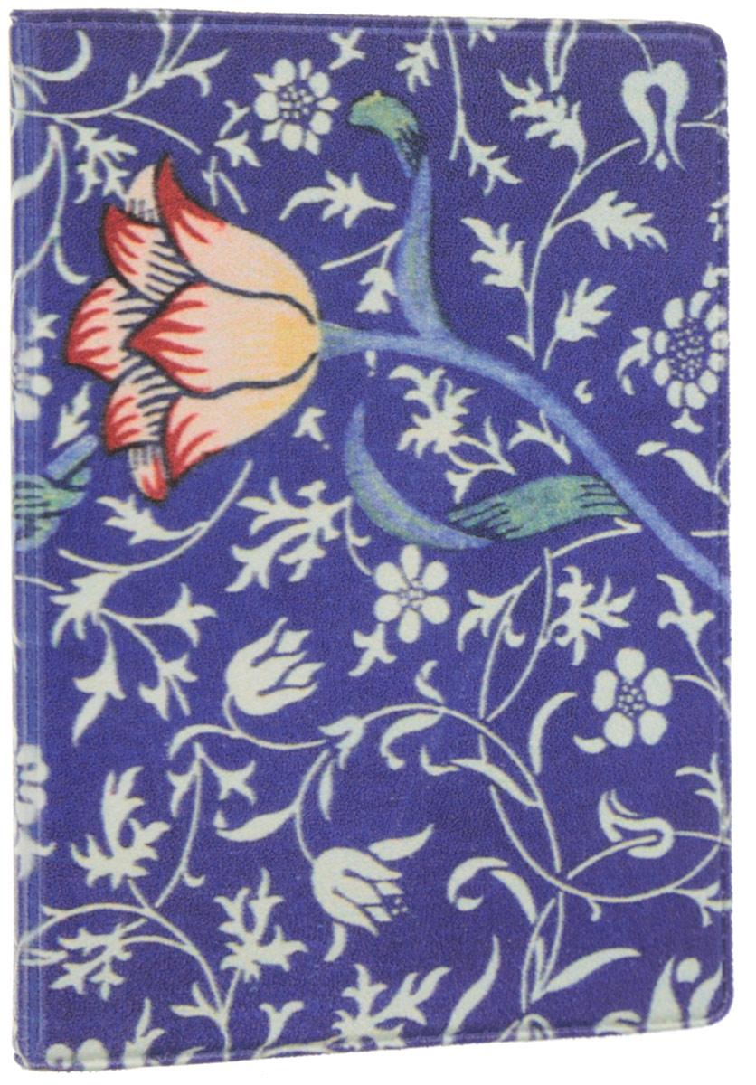 Визитница Mitya Veselkov Тюльпан, цвет: синий, белый. VIZAM035VIZAM035Оригинальная визитница Mitya Veselkov Тюльпан прекрасно подойдет для хранения визиток и пластиковых карт. Визитница выполнена из ПВХ и оформлена цветочным принтом. Внутри содержатся съемный блок из прозрачного мягкого пластика на восемнадцать визиток и два прозрачных боковых кармана. Стильная визитница подчеркнет вашу индивидуальность и изысканный вкус, а также станет замечательным подарком человеку, ценящему качественные и практичные вещи.