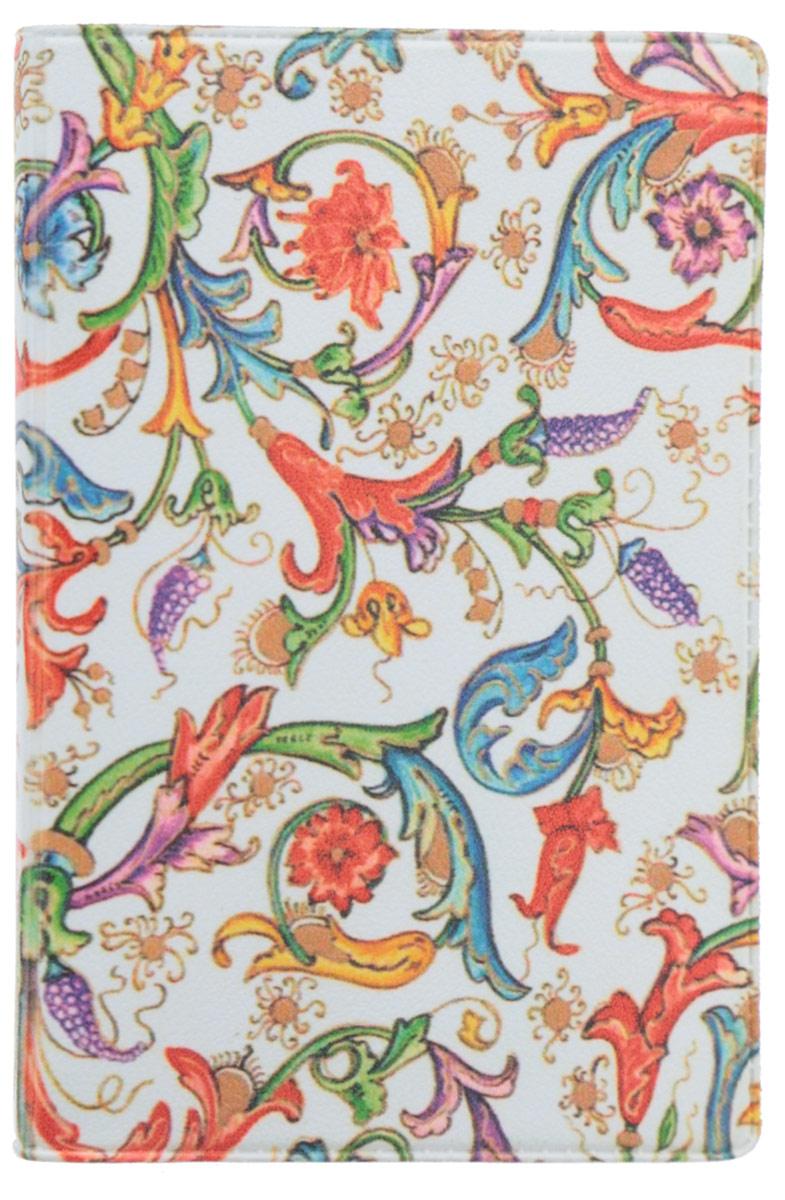 Визитница Mitya Veselkov Райский сад, цвет: молочный, красный, зеленый. VIZAM054VIZAM054Оригинальная визитница Mitya Veselkov Райский сад прекрасно подойдет для хранения визиток и пластиковых карт. Визитница выполнена из ПВХ и оформлена цветочным принтом. Внутри содержится съемный блок из прозрачного мягкого пластика на восемнадцать визиток и два прозрачных боковых кармана. Стильная визитница подчеркнет вашу индивидуальность и изысканный вкус, а также станет замечательным подарком человеку, ценящему качественные и практичные вещи.