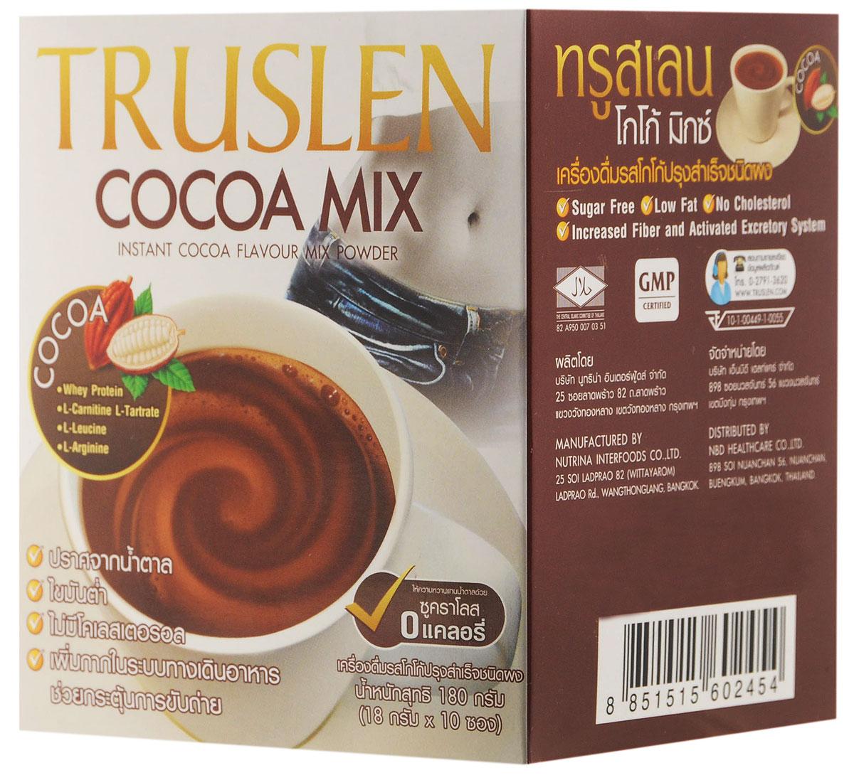 Truslen Cocoa Mix какао-напиток, 10 шт ( 2454 )