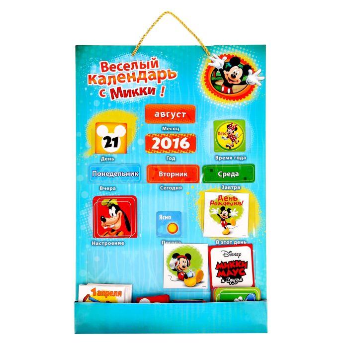 Disney Обучающие карточки Календарь с кармашками Микки Маус и его друзья1195050