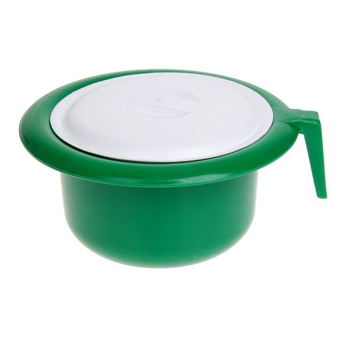 Крошка Я Горшок детский с крышкой цвет зеленый