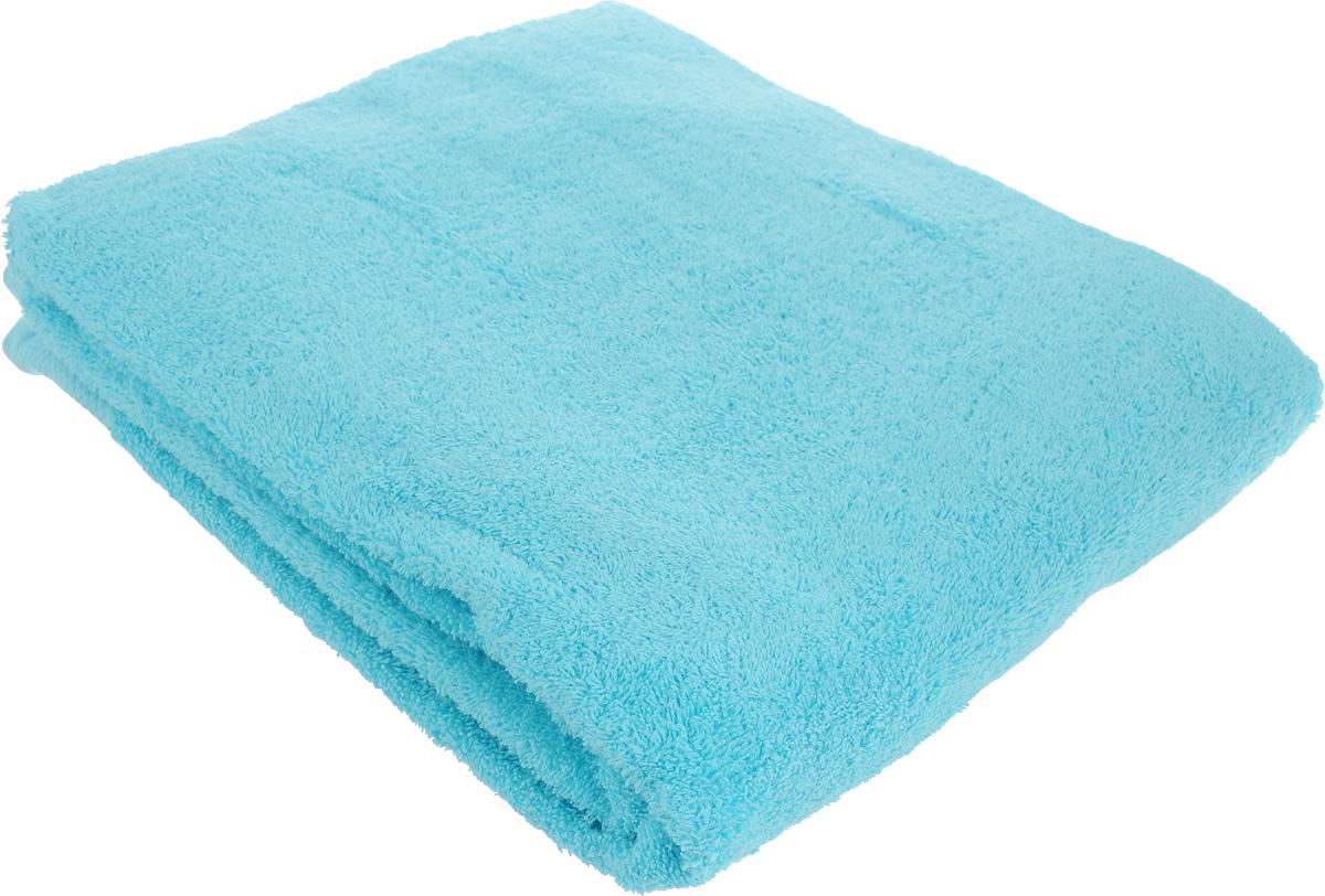 Полотенце махровое Toalla, цвет: голубой, 100 x 150 см00000000091Полотенце Toalla выполнено из натуральной махровой ткани (100% хлопок). Изделие отлично впитывает влагу, быстро сохнет, сохраняет яркость цвета и не теряет форму даже после многократных стирок. Полотенце очень практично и неприхотливо в уходе. Оно создаст прекрасное настроение и украсит интерьер в ванной комнате.
