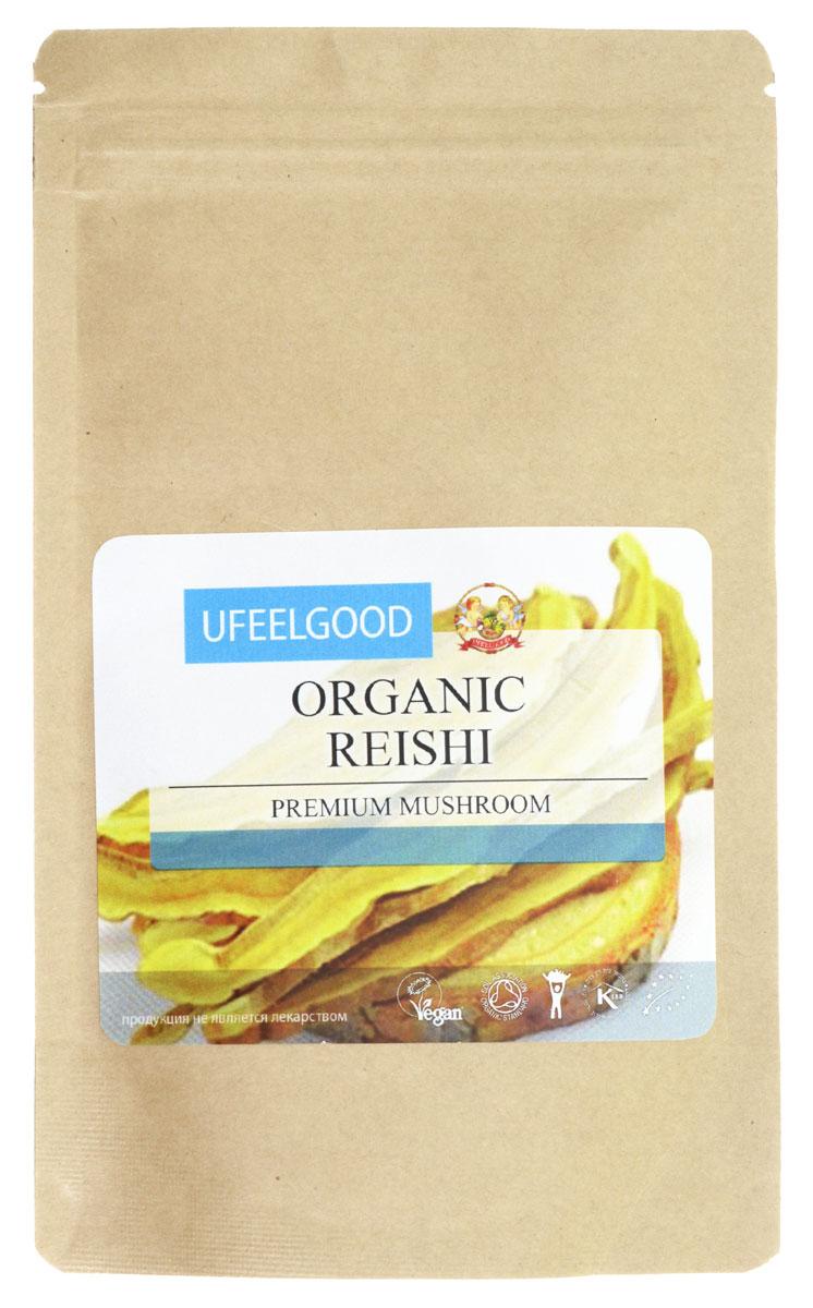 UFEELGOOD Organic Reishi Premium Mushroom Powder органический гриб рейши молотый, 100 г