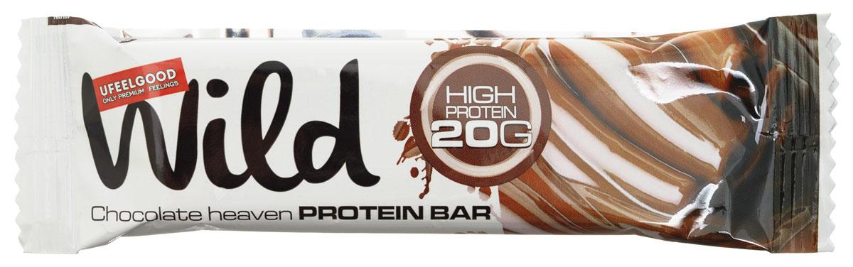 UFEELGOOD Wild Chocolate Heaven Protein Bar батончик, 50 г