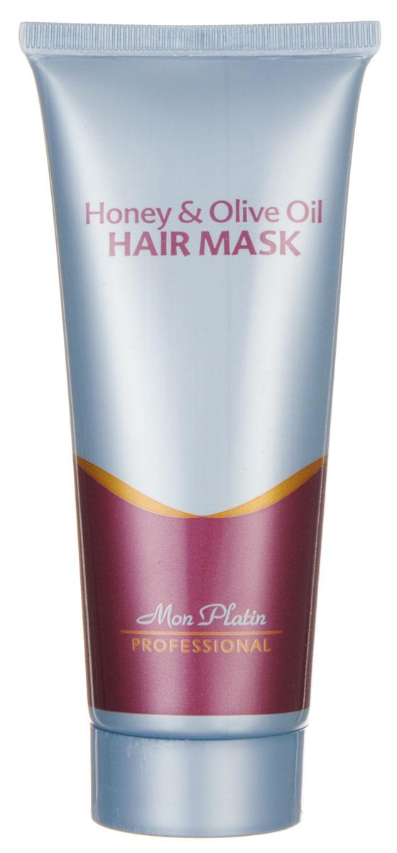 Mon Platin Professional Маска для волос на основе оливкового масла и меда 100млMP766Маска предназначена для быстрого, безопасного восстановления волос после покрасок, обесцвечивания, химических, завивок; придает жизненную силу и здоровье каждому отдельно взятому волоску; насыщает волосы аминокислотами и питает их необходимыми элементами; очищает кожу головы и волосы. После применения средства волосы становятся мягкими и шелковистыми, легко расчесываются. Входящие в состав маски компоненты придают волосам приятный ненавязчивый аромат, а защитные фильтры - максимальную защиту от ультрафиолетового излучения.