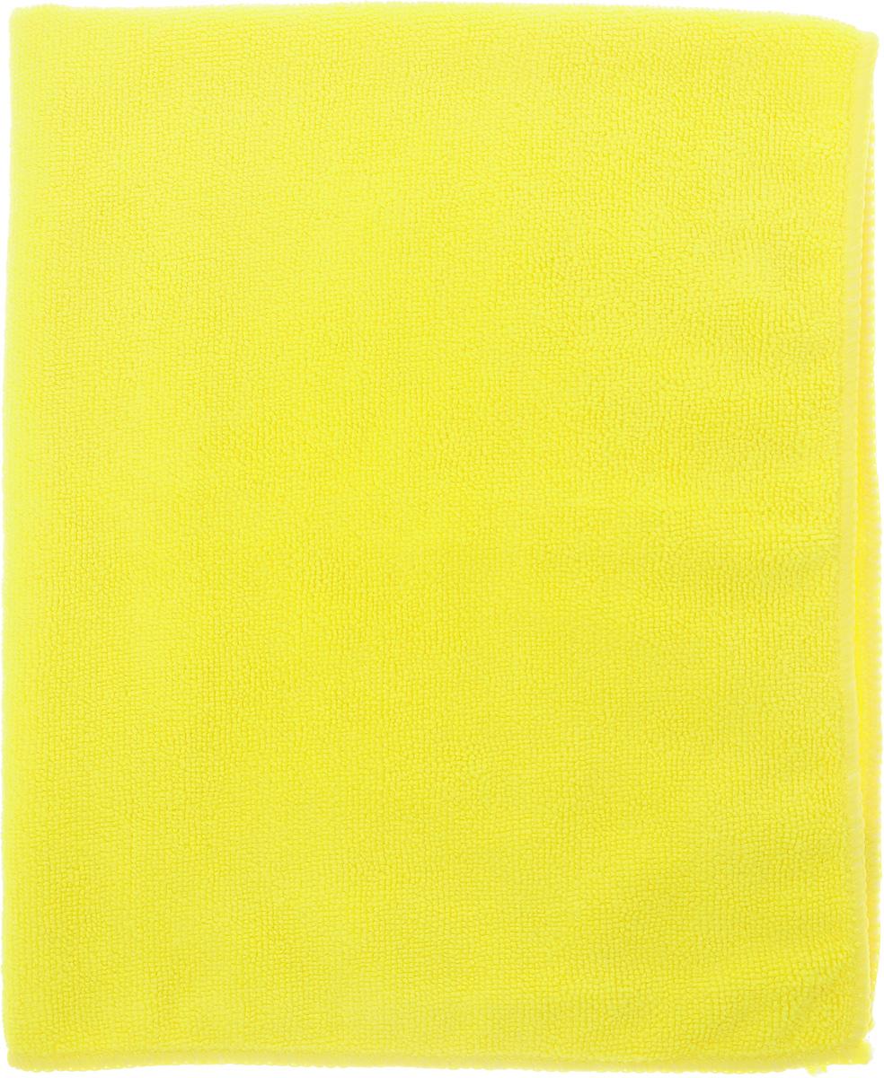 Салфетка чистящая Sapfire Large & Soft, цвет: желтый, 60 х 50 смSFM-3011 _желтыйЧистящая салфетка Sapfire Large & Soft выполнена из микрофибры (85% полиэстер, 15% полиамид). Каждая нить после специальной химической обработки расщепляется на 12-16 клиновидных микроволокон. Микрофибровое полотно удаляет грязь с поверхности намного эффективнее, быстрее и значительно более бережно в сравнении с обычной тканью, что существенно снижает время на проведение уборки, поскольку отсутствует необходимость протирать одно и то же место дважды. Салфетка обладает уникальной способностью быстро впитывать большой объем жидкости. Клиновидные микроскопические волокна захватывают и легко удерживают частички пыли, жировой и никотиновый налет, микроорганизмы, в том числе болезнетворные и вызывающие аллергию. Благодаря своей сетчатой структуре, легко удаляет с твердых поверхностей засохшую грязь, смолу и почки деревьев, прилипших насекомых. Протертая поверхность становится идеально чистой, сухой, блестящей, без разводов и ворсинок. ...