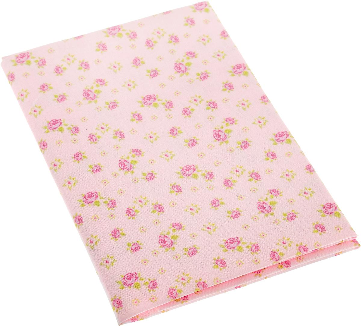 Ткань для пэчворка Артмикс Розы в стиле шебби шик, цвет: розовый, зеленый, 48 x 50 смAM586002Ткань Артмикс Розы в стиле шебби шик, изготовленная из 100% хлопка, предназначена для пошива одеял, покрывал, сумок, аппликаций и прочих изделий в технике пэчворк. Также подходит для пошива кукол, аксессуаров и одежды. Пэчворк - это вид рукоделия, при котором по принципу мозаики сшивается цельное изделие из кусочков ткани (лоскутков). Плотность ткани: 120 г/м2. УВАЖАЕМЫЕ КЛИЕНТЫ! Обращаем ваше внимание, на тот факт, что размер отреза может отличаться на 1-2 см.