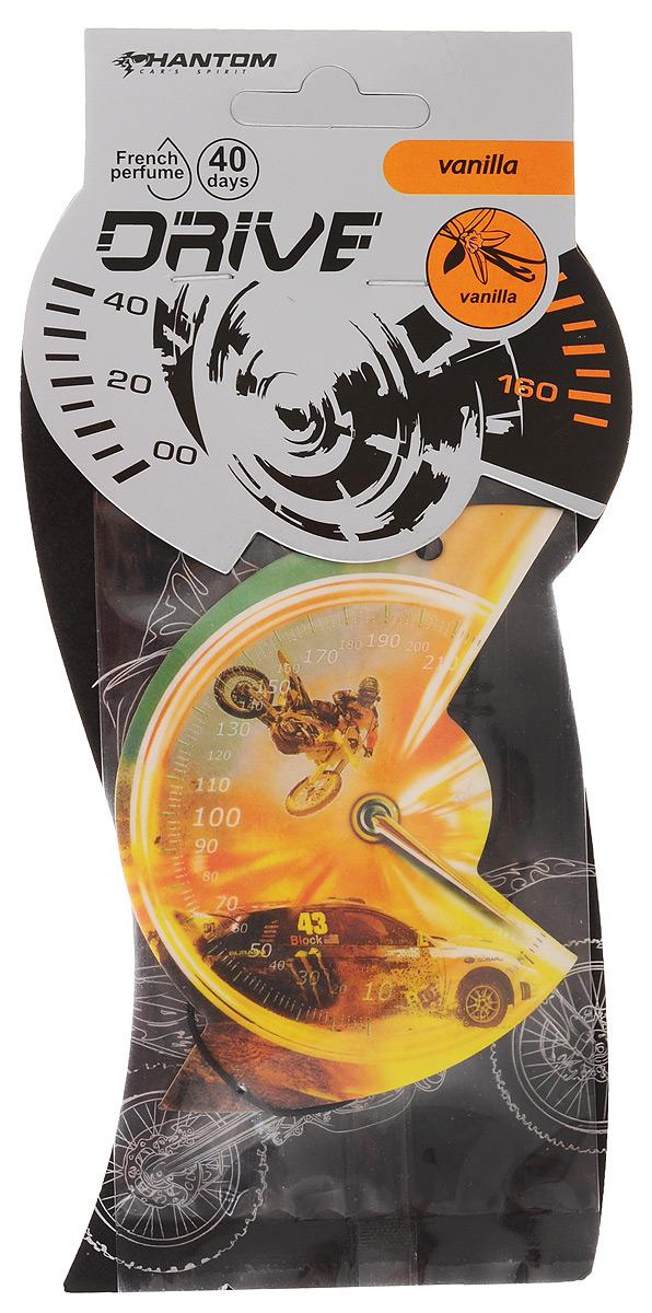 "Ароматизатор Phantom ""Drive"", ваниль, цвет: оранжевый"