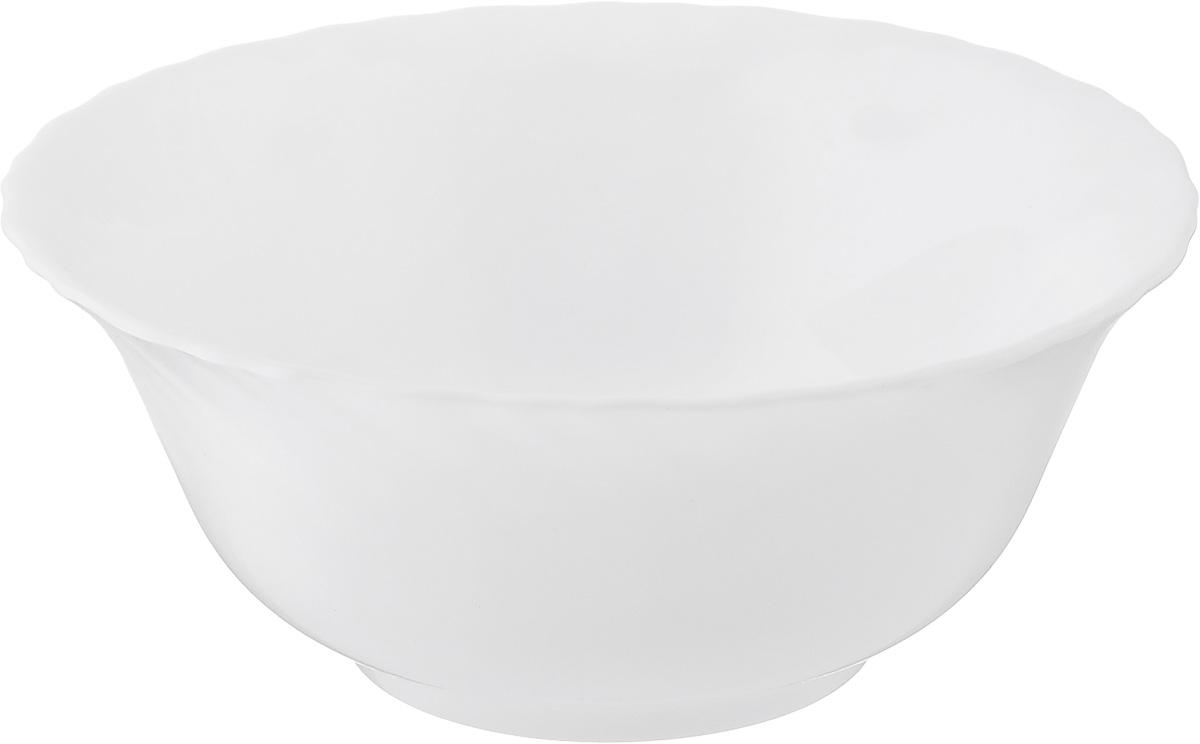 Салатник Luminarc Carine White, диаметр 12 смH3672Великолепный круглый салатник Luminarc Carine White, изготовленный стекла, прекрасно подойдет для подачи различных блюд: закусок, салатов или фруктов. Такой салатник украсит ваш праздничный или обеденный стол, а оригинальное исполнение понравится любой хозяйке. Диаметр салатника (по верхнему краю): 12 см.