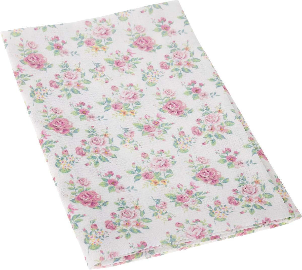 Ткань для пэчворка Артмикс Нежные розы шебби, цвет: белый, розовый, зеленый, 48 x 50 смAM597002Ткань Артмикс Нежные розы шебби, изготовленная из 100% хлопка, предназначена для пошива одеял, покрывал, сумок, аппликаций и прочих изделий в технике пэчворк. Также подходит для пошива кукол, аксессуаров и одежды. Пэчворк - это вид рукоделия, при котором по принципу мозаики сшивается цельное изделие из кусочков ткани (лоскутков). Плотность ткани: 120 г/м2. УВАЖАЕМЫЕ КЛИЕНТЫ! Обращаем ваше внимание, на тот факт, что размер отреза может отличаться на 1-2 см.