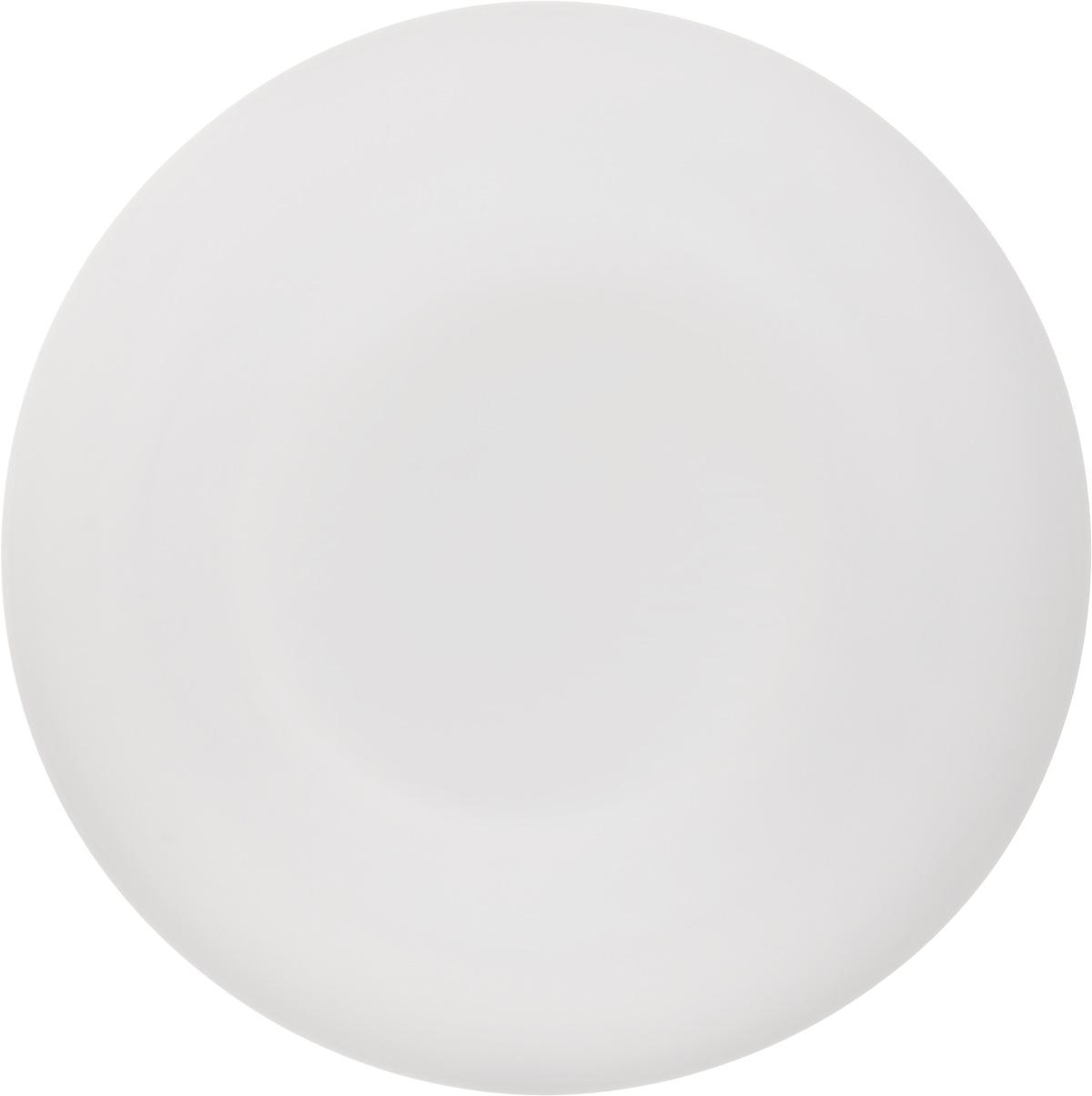 Тарелка обеденная Luminarc Olax, диаметр 25 смL1354Обеденная тарелка Luminarc Olax изготовлена из ударопрочного стекла белого цвета. Дизайн придется по вкусу и ценителям классики, и тем, кто предпочитает утонченность. Тарелка Luminarc Olax идеально подойдет для сервировки вторых блюд из птицы, рыбы, мяса или овощей, а также станет отличным подарком к любому празднику. Диаметр тарелки (по верхнему краю): 25 см.