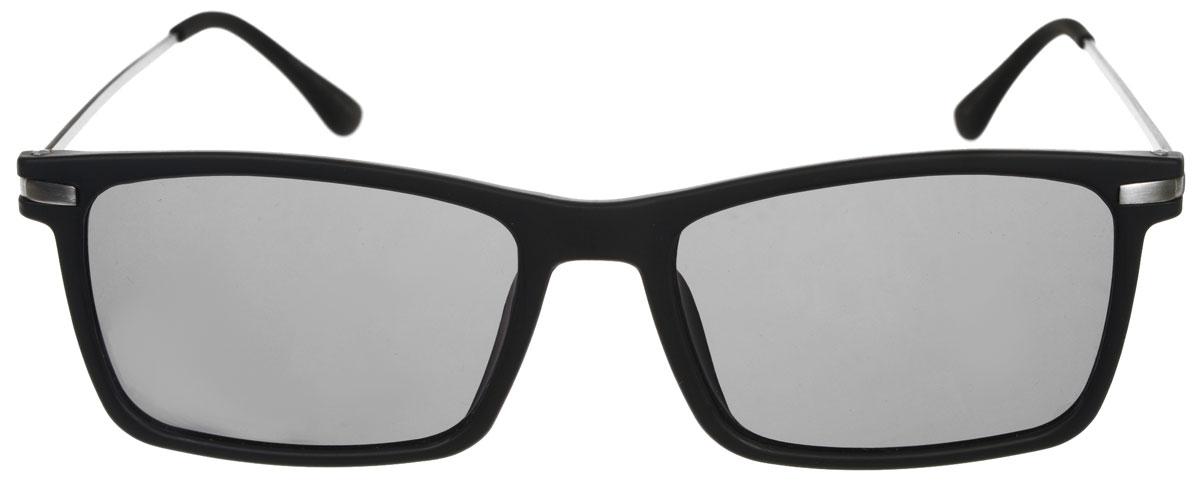 Очки солнцезащитные мужские Fabretti, цвет: черный. A1601-1A1601-1Солнцезащитные мужские очки Fabretti выполнены с линзами из высококачественного пластика. Используемый пластик не искажает изображение, не подвержен нагреванию и вредному воздействию солнечных лучей, защищает от бликов, повышает контрастность и четкость изображения, снижает усталость глаз и обеспечивает отличную видимость. Линзы имеют степень затемнения Cat. 3. Пластиковая оправа очков с металлическими дужками легкая, прилегающей формы и поэтому не создает никакого дискомфорта. Такие очки защитят глаза от ультрафиолетовых лучей, подчеркнут вашу индивидуальность и сделают ваш образ завершенным.