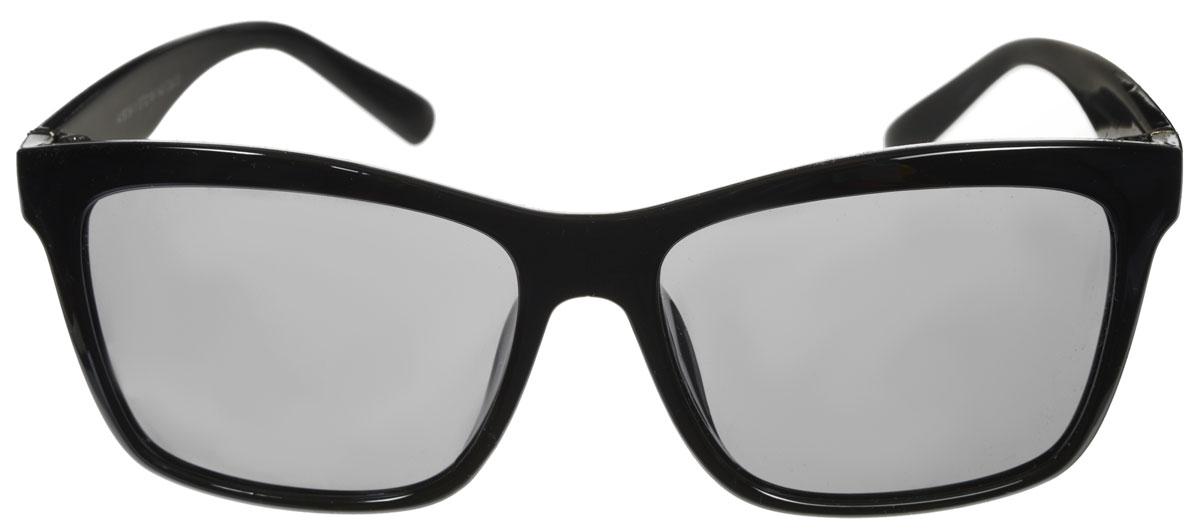 Очки солнцезащитные женские Fabretti, цвет: черный. A1619-1A1619-1Солнцезащитные женские очки Fabretti выполнены с линзами из высококачественного пластика. Используемый пластик не искажает изображение, не подвержен нагреванию и вредному воздействию солнечных лучей, защищает от бликов, повышает контрастность и четкость изображения, снижает усталость глаз и обеспечивает отличную видимость. Линзы имеют степень затемнения Cat. 3. Пластиковая оправа очков легкая, прилегающей формы и поэтому не создает никакого дискомфорта. Такие очки защитят глаза от ультрафиолетовых лучей, подчеркнут вашу индивидуальность и сделают ваш образ завершенным.
