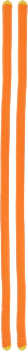 Гибкий фиксатор Storage, длина 43 см, цвет: оранжевый, желтый, 2 штТД.010001Гибкие фиксаторы Storage представляют собой многофункциональное приспособление с широким функционалом. Предназначены для скручивания различных предметов между собой. Могут использоваться для содержания в порядке инструментов, для хранения лыж и палок, шлангов, закрепления багажа, подвязки растений и многого другого. Имеют защитное (мягкое) покрытие и колпачки с обеих сторон. Длина: 43 см (17).