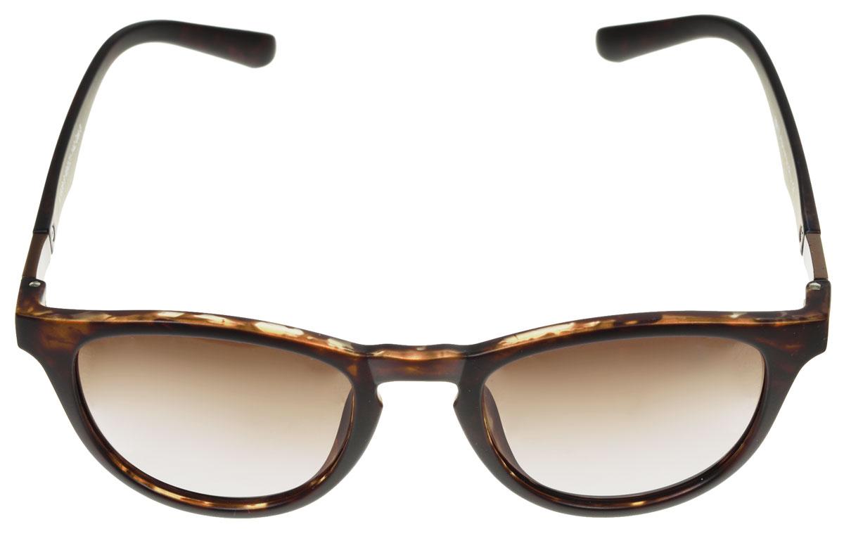 Очки солнцезащитные женские Fabretti, цвет: темно-коричневый. A1608-9A1608-9Солнцезащитные женские очки Fabretti выполнены с линзами из высококачественного пластика. Используемый пластик не искажает изображение, не подвержен нагреванию и вредному воздействию солнечных лучей, защищает от бликов, повышает контрастность и четкость изображения, снижает усталость глаз и обеспечивает отличную видимость. Линзы имеют степень затемнения Cat. 3. Пластиковая оправа очков легкая, прилегающей формы и поэтому не создает никакого дискомфорта. Такие очки защитят глаза от ультрафиолетовых лучей, подчеркнут вашу индивидуальность и сделают ваш образ завершенным.