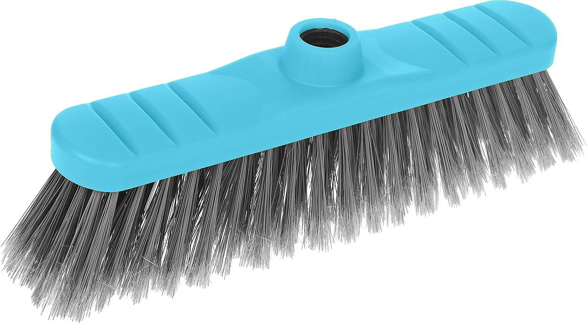 Щетка-насадка для пола Мир чистоты, цвет: голубой, серыйSP010Щетка-насадка для пола Мир чистоты изготовлена из полипропилена и предназначена для уборки сухого мусора. Изделие оснащено универсальной резьбой, которая подходит ко всем видам ручек. Упругий и длинный ворс максимально быстро без лишних усилий позволит собрать мусор из самых труднодоступных мест. Размер щетки: 26,5 х 5,5 х 10 см. Длина ворса: 6 см. Диаметр отверстия под ручку: 2,2 см.
