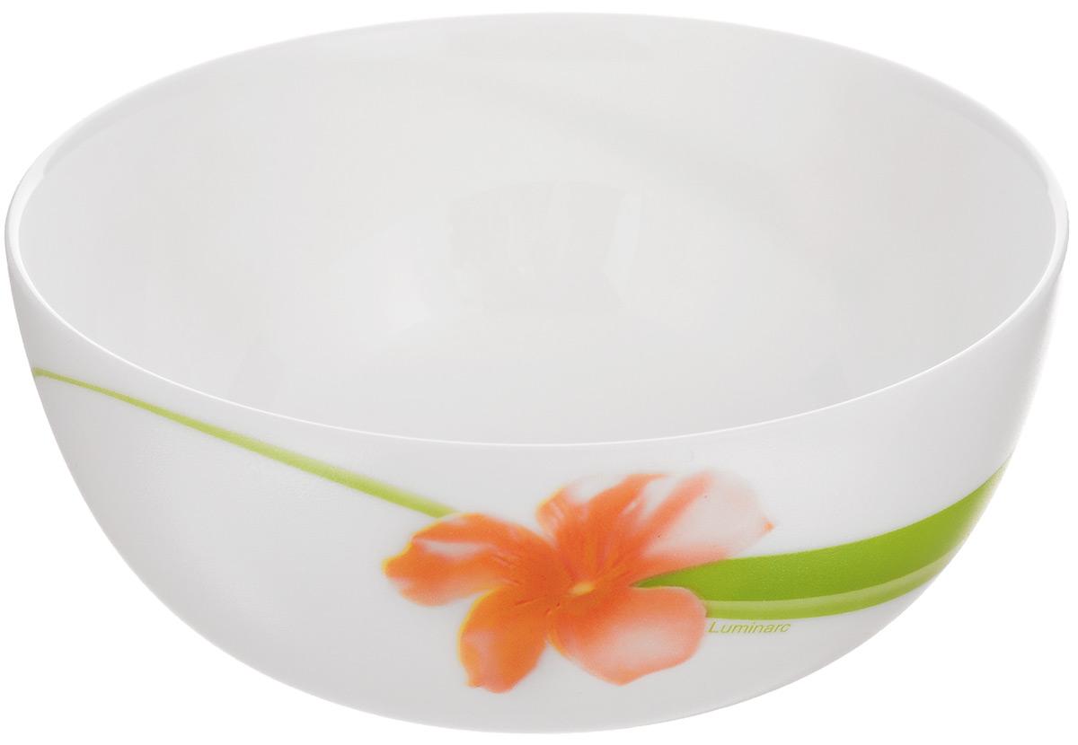 Салатник Luminarc Sweet Impression, диаметр 12 смJ1334Салатник Luminarc Sweet Impression, изготовленный из высококачественного стекла, прекрасно впишется в интерьер вашей кухни и станет достойным дополнением к кухонному инвентарю. Салатник оформлен ярким рисунком. Такой салатник не только украсит ваш кухонный стол и подчеркнет прекрасный вкус хозяйки, но и станет отличным подарком. Диаметр по верхнему краю: 12 см. Высота салатника: 5,5 см.