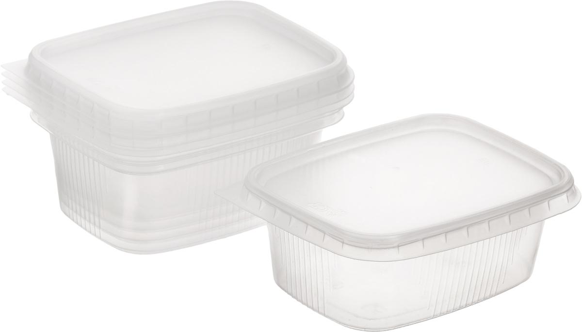 Контейнеры для заморозки зелени Хозяюшка Мила, 200 мл, 5 шт09045Контейнеры для заморозки зелени Хозяюшка Мила изготовлены из пищевого полипропилена. Для улучшения морозостойкости контейнеров используются специальные добавки полимеров, которые снижают границу использования материала до 30°С, поэтому не рекомендуется повторно использовать контейнеры и разогревать в них продукты. Крышка плотно прилегает к контейнеру, исключая проникновение посторонних запахов. Размер контейнера: 11,5 х 8,5 х 4,3 см.
