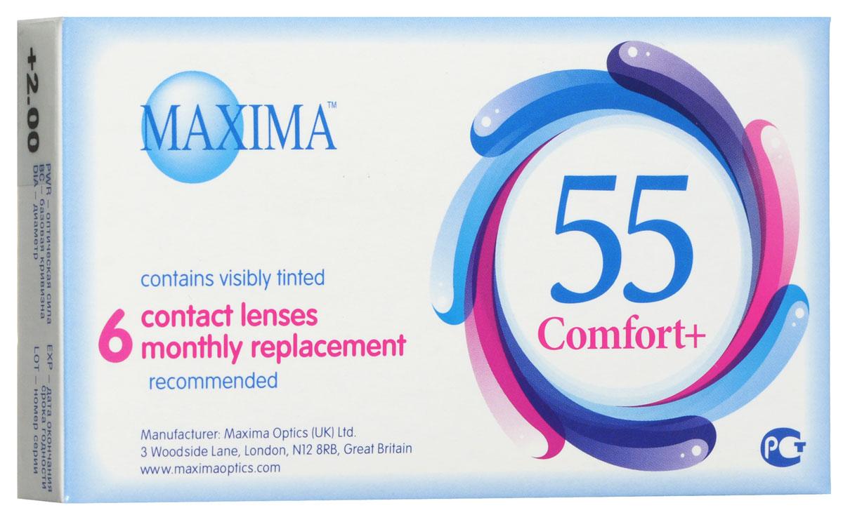 Maxima Optics Maxima ���������� ����� 55 Comfort Plus (6�� / 8.6 / +2.00)