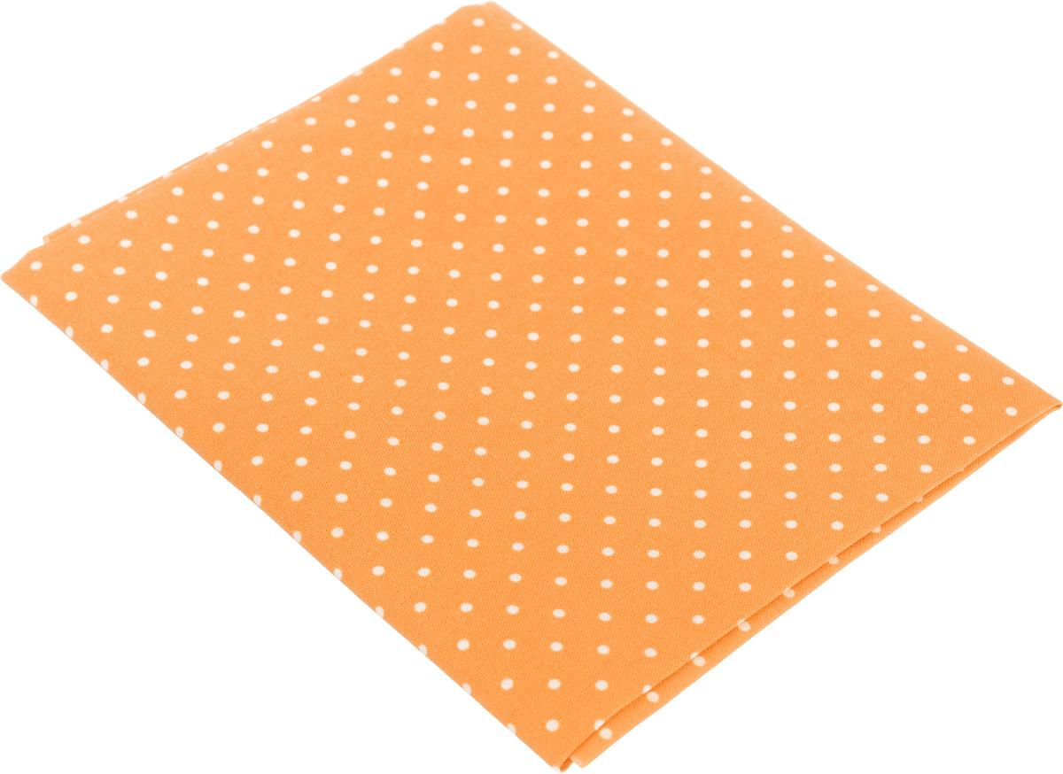 Ткань для пэчворка Артмикс Горошек, цвет: оранжевый, белый, 48 х 50 смAM556027Ткань Артмикс Горошек, изготовленная из 100% хлопка, предназначена для пошива одеял, покрывал, сумок, аппликаций и прочих изделий в технике пэчворк. Также подходит для пошива кукол, аксессуаров и одежды. Пэчворк - это вид рукоделия, при котором по принципу мозаики сшивается цельное изделие из кусочков ткани (лоскутков). Плотность ткани: 120 г/м2. УВАЖАЕМЫЕ КЛИЕНТЫ! Обращаем ваше внимание, на тот факт, что размер отреза может отличаться на 1-2 см.