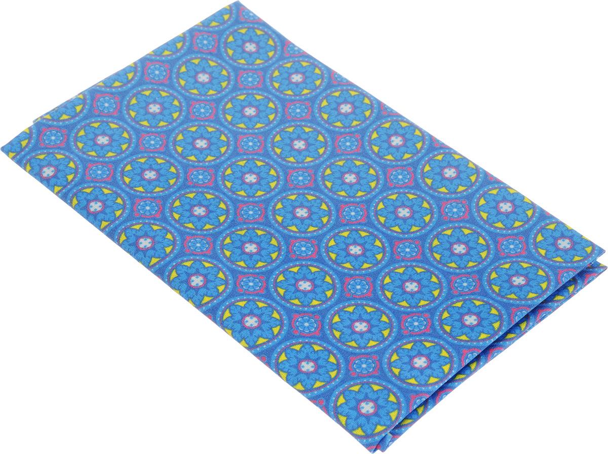 Ткань для пэчворка Артмикс Пейсли, цвет: голубой, желтый, 48 х 50 см. AM604012AM604012Ткань Артмикс Пейсли, изготовленная из 100% хлопка, предназначена для пошива одеял, покрывал, сумок, аппликаций и прочих изделий в технике пэчворк. Также подходит для пошива кукол, аксессуаров и одежды. Пэчворк - это вид рукоделия, при котором по принципу мозаики сшивается цельное изделие из кусочков ткани (лоскутков). Плотность ткани: 120 г/м2. УВАЖАЕМЫЕ КЛИЕНТЫ! Обращаем ваше внимание, на тот факт, что размер отреза может отличаться на 1-2 см.