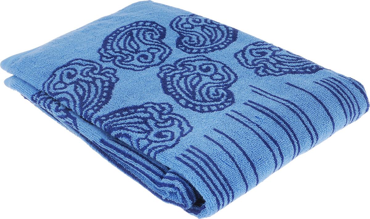 Полотенце махровое Toalla Аква, цвет: синий, 50 x 90 см00000000019Полотенце Toalla Аква выполнено из натуральной махровой ткани (100% хлопок). Изделие отлично впитывает влагу, быстро сохнет, сохраняет яркость цвета и не теряет форму даже после многократных стирок. Полотенце очень практично и неприхотливо в уходе. Оно создаст прекрасное настроение и украсит интерьер в ванной комнате.