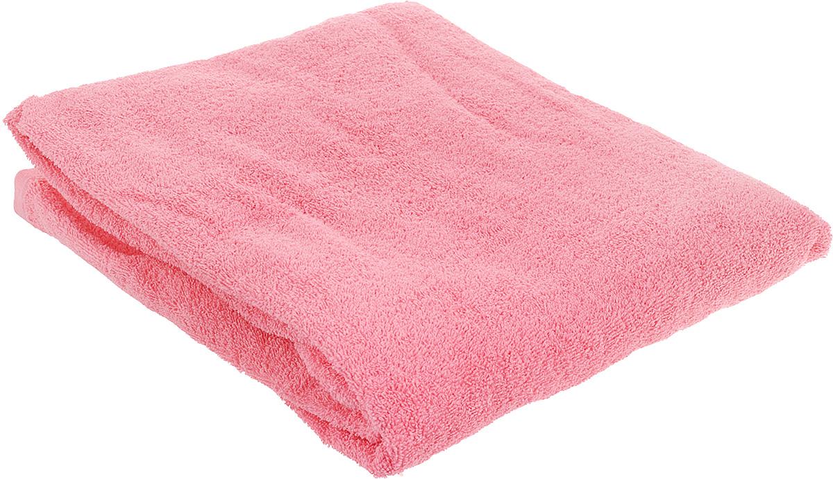 Полотенце махровое Toalla, цвет: розовый, 100 x 150 см00000000083Полотенце Toalla выполнено из натуральной махровой ткани (100% хлопок). Изделие отлично впитывает влагу, быстро сохнет, сохраняет яркость цвета и не теряет форму даже после многократных стирок. Полотенце очень практично и неприхотливо в уходе. Оно создаст прекрасное настроение и украсит интерьер в ванной комнате.