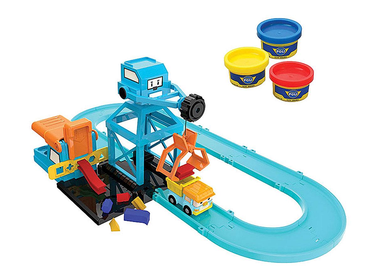 Robocar Poli Игровой набор Цементный завод83252Игровой набор Robocar Poli Цементный завод непременно понравится вашему ребенку. Набор включает в себя детали для возведения здания завода, металлическую машинку по имени Дампи, а также пластичную массу для лепки. Используя фигурные заготовки, и ручной пресс, можно слепить значки любимых героев и загрузить их в самосвал. Мягкий творческий материал имеет приятный аромат, прекрасно мнется, легко очищается и не липнет к рукам. Этот набор совместим с другими игрушками из Robocar Poli, что значительно расширяет возможности для сюжетных игр вашего ребенка. Все элементы набора изготовлены из безопасных и экологически чистых материалов и отвечают самым строгим требованиям безопасности. Современный дизайн и точная детализация мультяшных персонажей несомненно приведут в восторг не только деток, но и взрослых. Игровые наборы развивают усидчивость, фантазию и логическое мышление, а во время игры с мелкими деталями развивается мелкая моторика и память. Порадуйте своего...