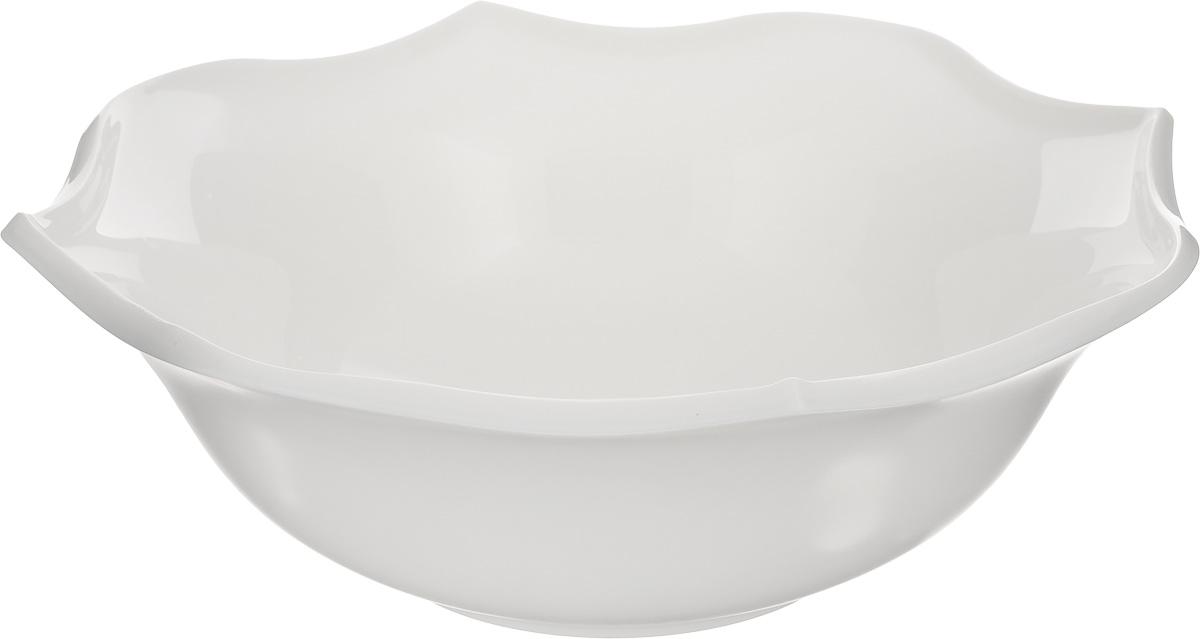 Салатник Luminarc Louisa, диаметр 25 смJ1748Салатник Luminarc Louisa, изготовленный из высококачественного стекла, прекрасно впишется в интерьер вашей кухни и станет достойным дополнением к кухонному инвентарю. Салатник имеет оригинальный дизайн. Такой салатник не только украсит ваш кухонный стол и подчеркнет прекрасный вкус хозяйки, но и станет отличным подарком. Диаметр по верхнему краю: 25 см. Высота салатника: 8,5 см.
