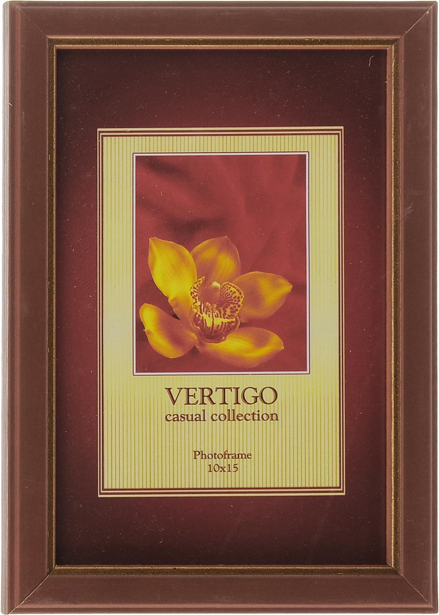 Фоторамка Vertigo Argona, 10 x 15 см. WF-1117WF-1117/gold lineФоторамка Vertigo Argona выполнена в классическом стиле из дерева и стекла, защищающего фотографию. Оборотная сторона рамки оснащена специальной ножкой, благодаря которой ее можно поставить на стол или любое другое место в доме или офисе. Также на изделии имеются два специальных отверстия для подвешивания. Такая фоторамка поможет вам оригинально и стильно дополнить интерьер помещения, а также позволит сохранить память о дорогих вам людях и интересных событиях вашей жизни.